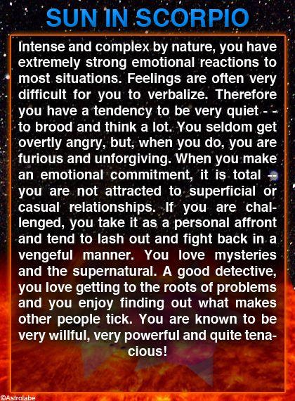most of this is like me. but I don't think  I'm vengeful or unforgiving.. lol