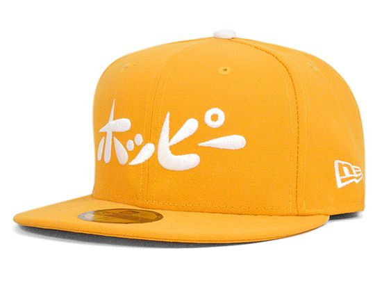 HOPPY x NEW ERA「Logo A」59Fifty Fitted Baseball Cap | Strictly Fitteds