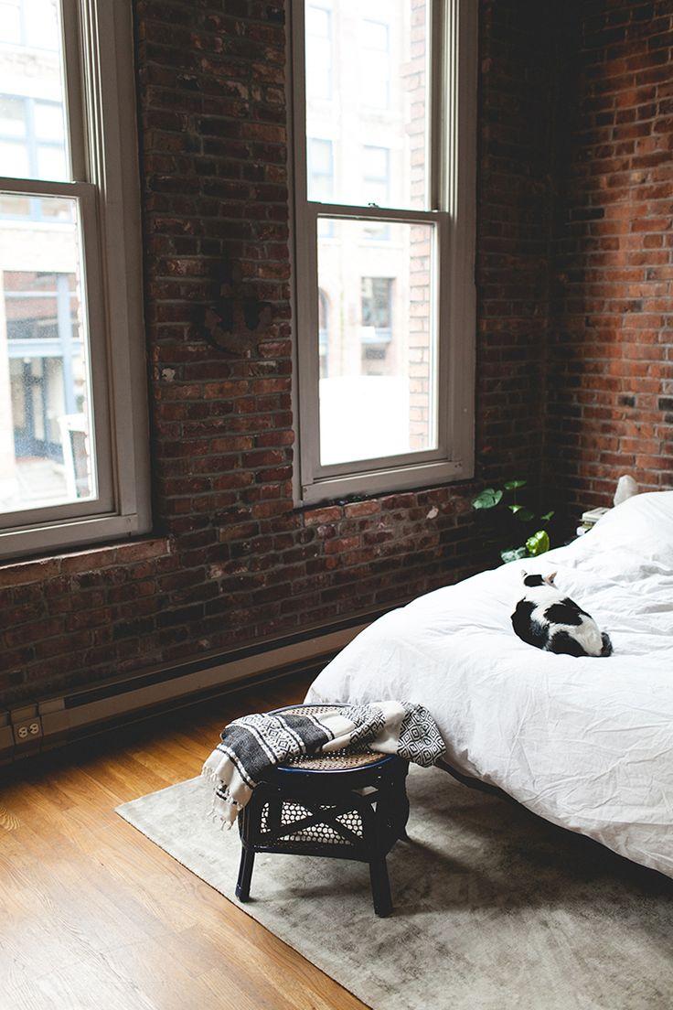 Best  Brick Loft Ideas On Pinterest - Loft apartment brick