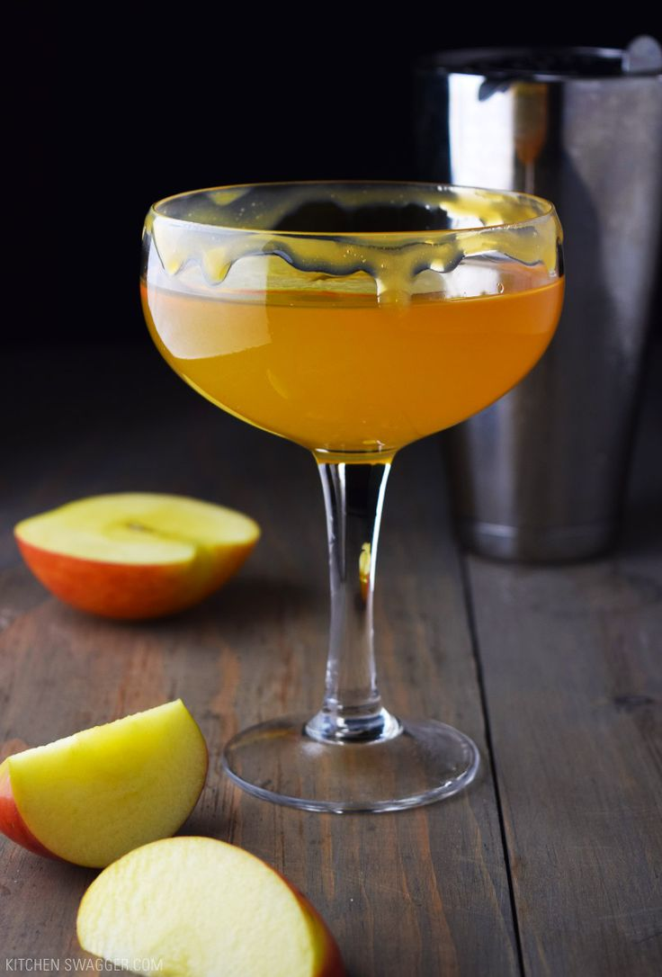 The caramel apple martini is a simple cocktail made with salted caramel vodka…