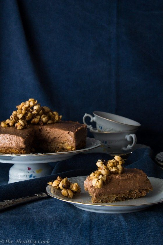 Healthier Nutella Cheesecake – Cheesecake με Nutella