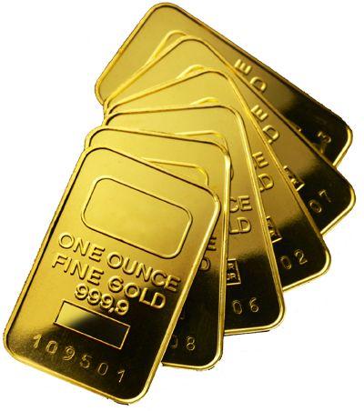 Trade gold online for cash