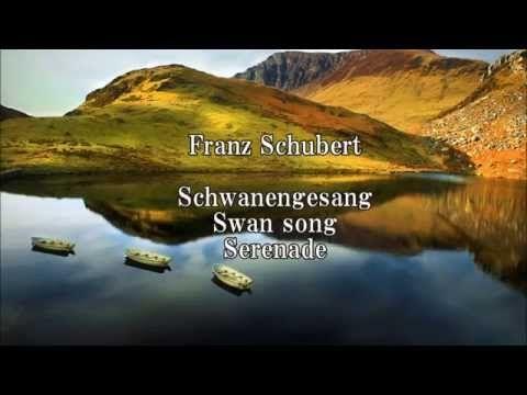 Schubert Schwanengesang (Swan song, Serenade) Ständchen D 957 4 - YouTube