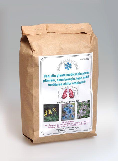 Ceai pentru plamani, astm bronsic, tuse, naduf, curatarea cailor respiratorii si cresterea imunitatii