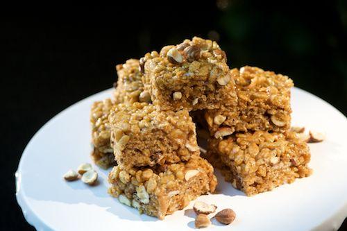 Crispy Rice Squares Julie Daniluk's book Meals That Heal Inflammation