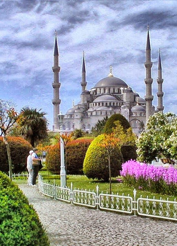 The Sultan Ahmed Mosque- Istanbul, Turkey