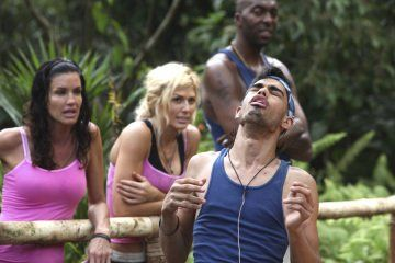 Still of Janice Dickinson, Torrie Wilson and Sanjaya Malakar in I'm a Celebrity, Get Me Out of Here! (2003)