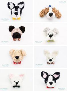 broches de perrito