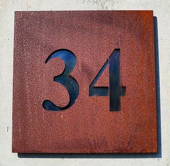 m s de 25 ideas incre bles sobre hausnummer edelstahl en pinterest. Black Bedroom Furniture Sets. Home Design Ideas