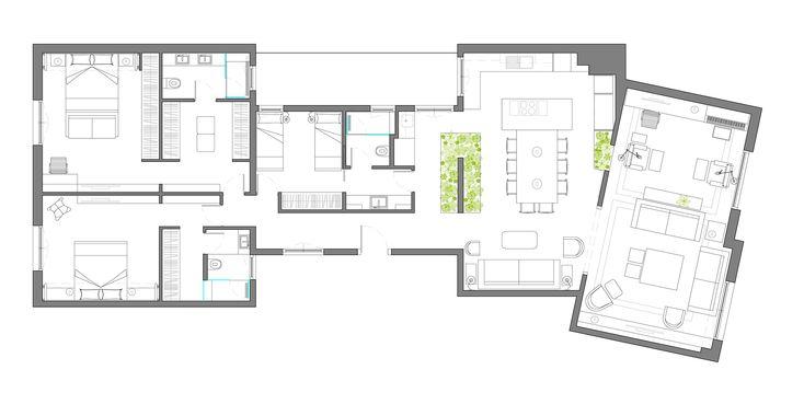 Suite for ten, proyecto de Egue y Seta en el Eixample barcelonés
