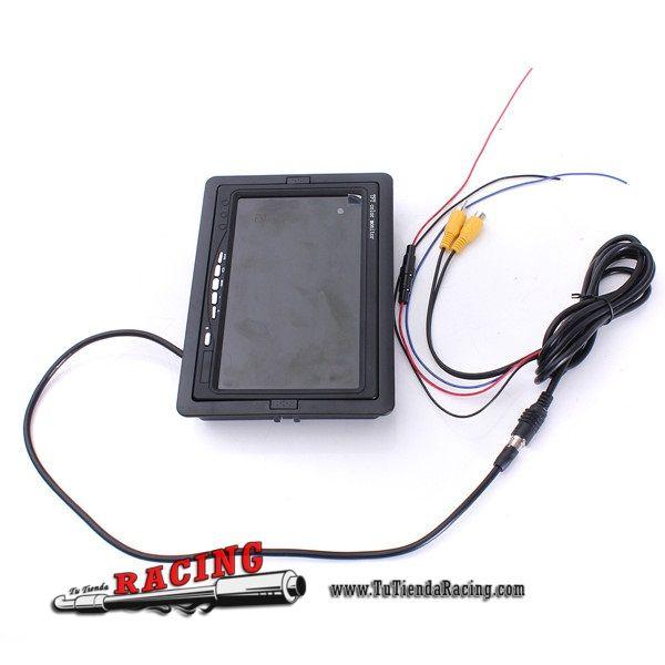 Pantalla Monitor TFT LCD de 7 Pulgadas para Sistemas de Aparcamiento / DVD -- 37,61€