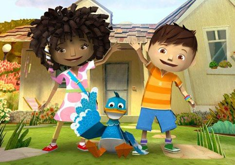"FIRST LOOK: Nick Jr's ""Zack & Quack"""