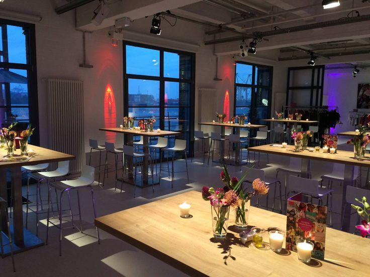 Mediendinner im #AltonaerKaispeicher #Buffet #VeranstaltungsmanufakturHamburg #TraiteurWille #Catering #Hamburg #Location #Deko #Hochzeit #Wedding