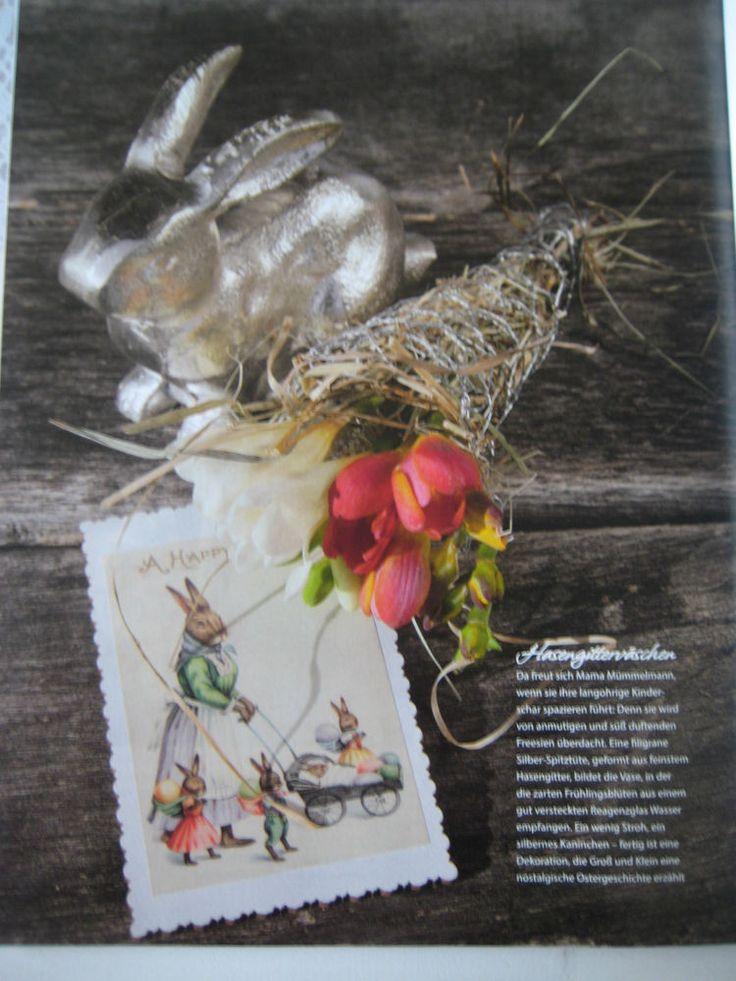 Cool Wohnen uDeko Shabby Magazin Zeitschrift Garten Idee Deko