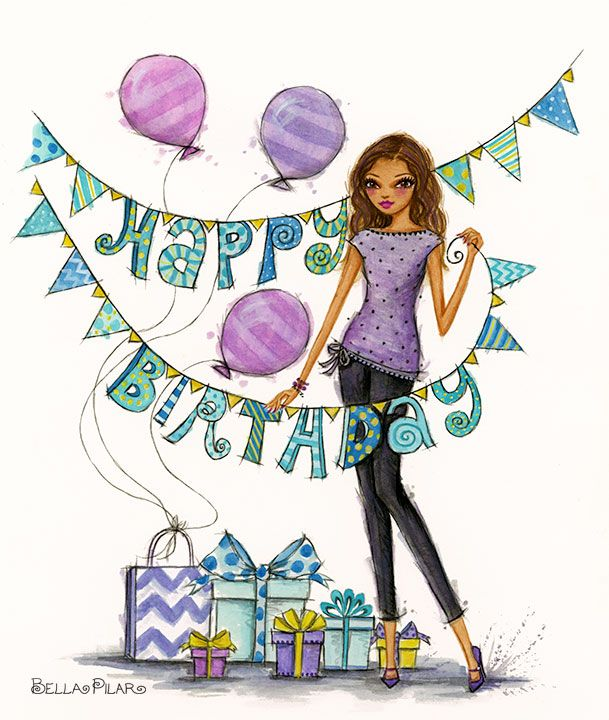 bellapilarstudio: Happy Birthday
