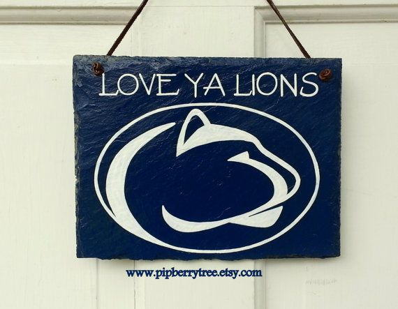 Penn State  Or Your College Personalized by Pipberrytree on Etsy, $30.00