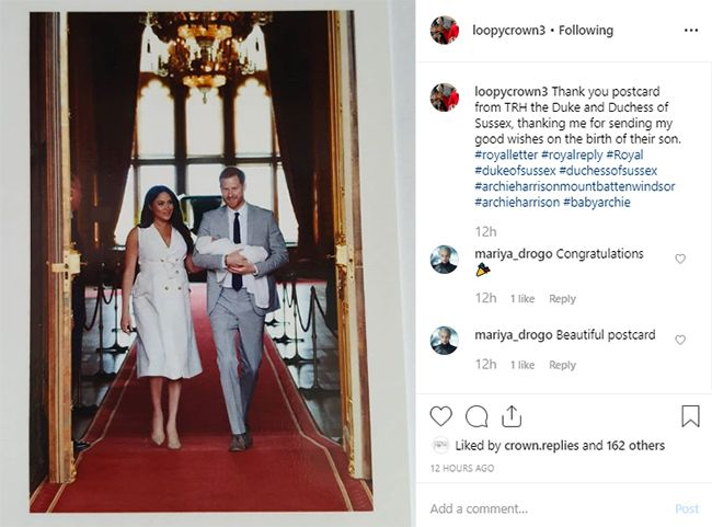 Prince Harry And Meghan Markle S Thank You Card To Fans Is Just
