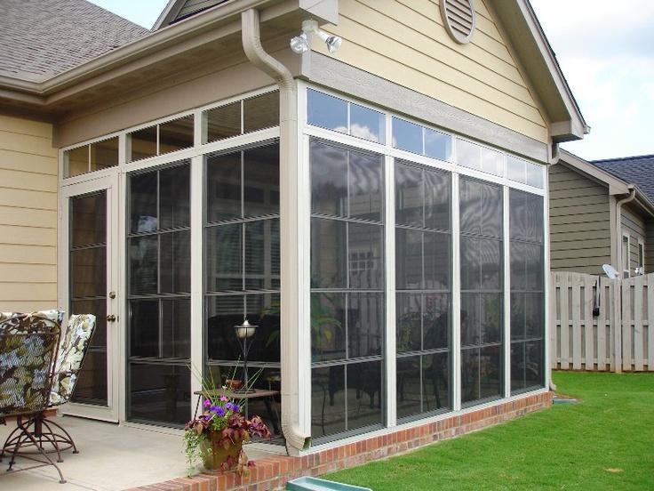 Eze-Breeze enclosed patio