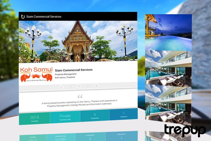 Let Siam Commercial provide you with the local, authentic and one-of-a-kind Thai experience. From Koh Samui, on Trepup! http://bit.ly/24y5Yte
