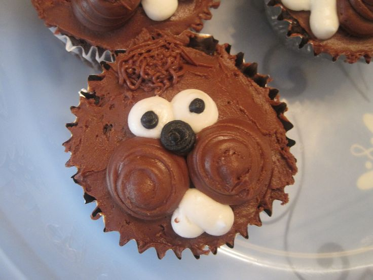 groundhog day cupcakes anyone