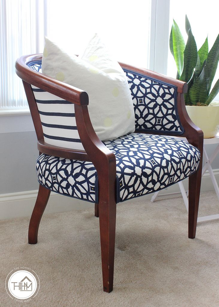 Nice Blue Upholstered Chairs 015