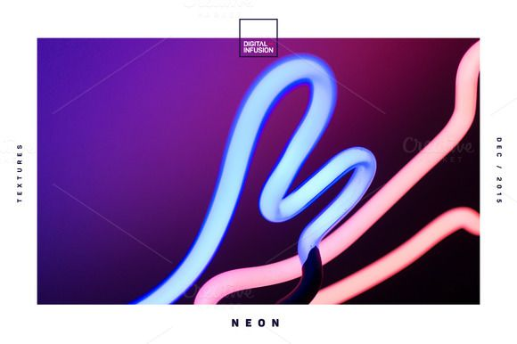 Neon Textures | Hero Image Bundle by DIGITAL INFUSION on @creativemarket