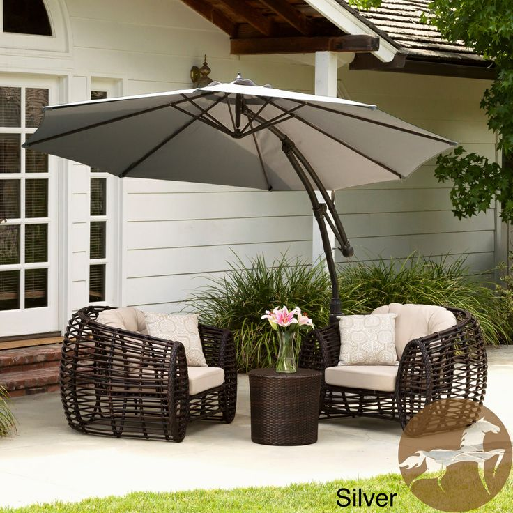 Elegant Sunshade Contemporary Outdoor Umbrellas. Christopher Knight Home Colima  Push Up Sun Canopy With Base | Overstock.com Shopping