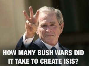 And the republican answer to the war torn Middle East is another war.