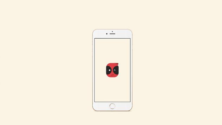 Wallpaper Deadpool - Smartphone