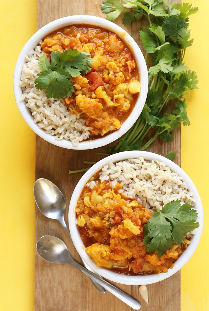 1756 best recipes indian images on pinterest vegan recipes this vegan red lentil cauliflower curry is a spiced indian curry made with lentils and cauliflower for a delicious gluten free and plant based meal forumfinder Gallery