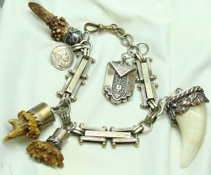 Wonderful German hunting amulets & charms