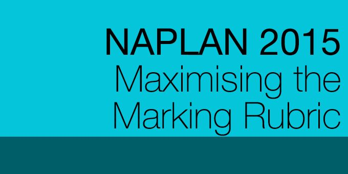 DECD current classrrom teachers!  Apply to participate in the Maximising the Marking Rubric Professional Development program to enhance your understanding of the NAPLAN writing tasks and give you the opportunity to apply to work as a paid NAPLAN marker from 2016.   DECD schools will get 1 week release time in 2015 so successful applicants can attend.  Places limited - applicants must have principal endorsement.   More information: DECD.MarkingCentre@sa.gov.au or tel 8226 1609.