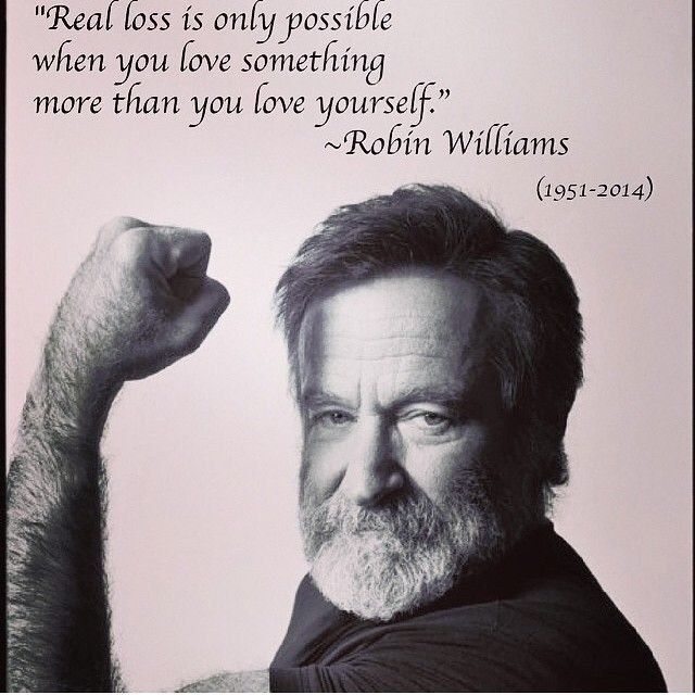 """You must strive to find your own voice because the longer you wait to begin the less likely you are too find it."" #DeadPoets Society Best Robin Williams quotes on Instagram written by Joi Pearson for Rolling Out"