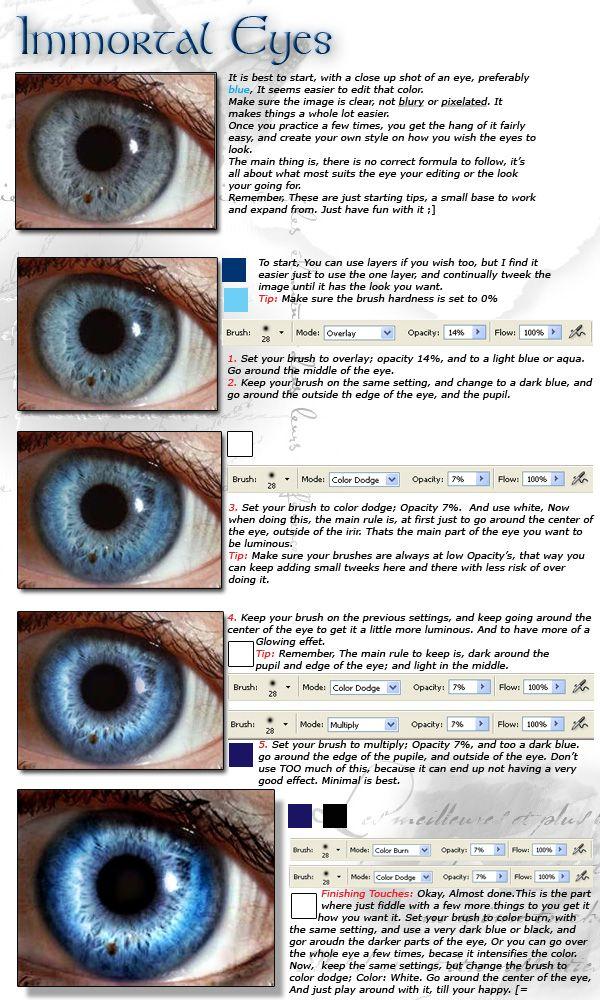 Enhancing Eyes in Photoshop by ~Kizzuh on deviantART