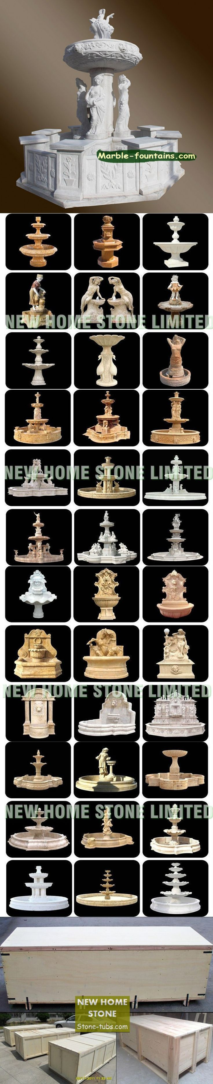 Italian Fountains for sale white marble statues fountain best decoration garden Italian Marble fountain for sale $6445
