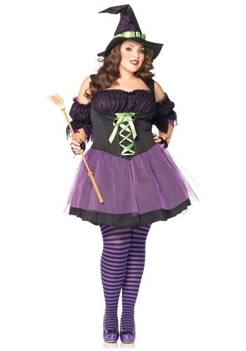 sexy plus size witch costumes for halloween seasonal holiday guide - Halloween Costume Plus Size Ideas