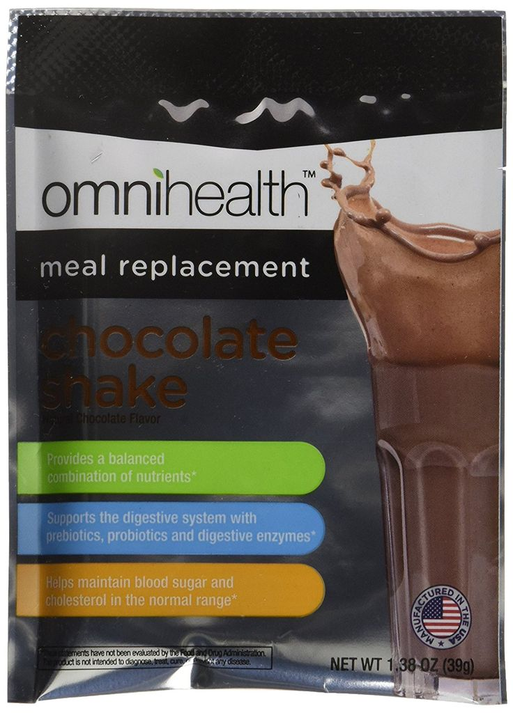 Omnihealth 14-Day Meal Replacement System, Chocolate => Unbelievable  item right here! : Weight loss Shakes and Powders