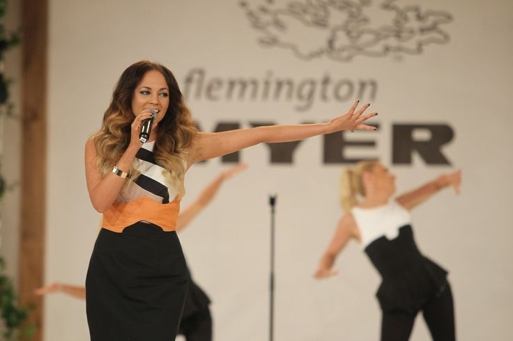 Samantha Jade rocks out the 2013 Myer Spring Fashion Lunch