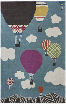 Gaaf om zoiets en keer van stof te maken en de lucht ballonnen erop te appliqueren.