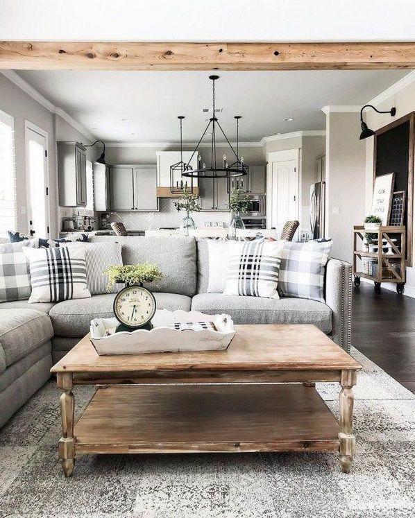 44 Choosing Good Rustic Farmhouse Living Room Joanna Gaines Decorating Ideas Living Room Remodel Living Room Designs Living Room Furniture