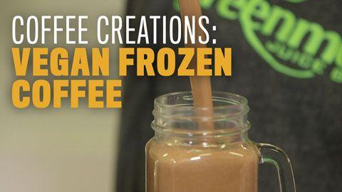 RW Coffee Creations: Vegan Frozen Coffee