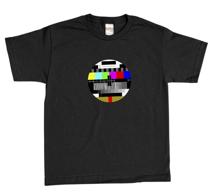 Men's test pattern t-shirt | hardtofind. Christmas in #HTFSTYLE