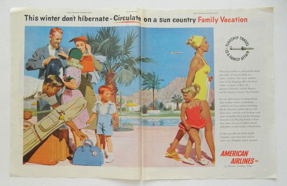 American Airlines Family Vacation Ad -