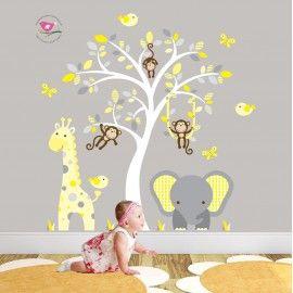 Jungle Themed Nursery - Enchanted Interiors