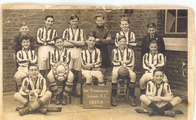 West Thurrock School F.C. 1937 - 8