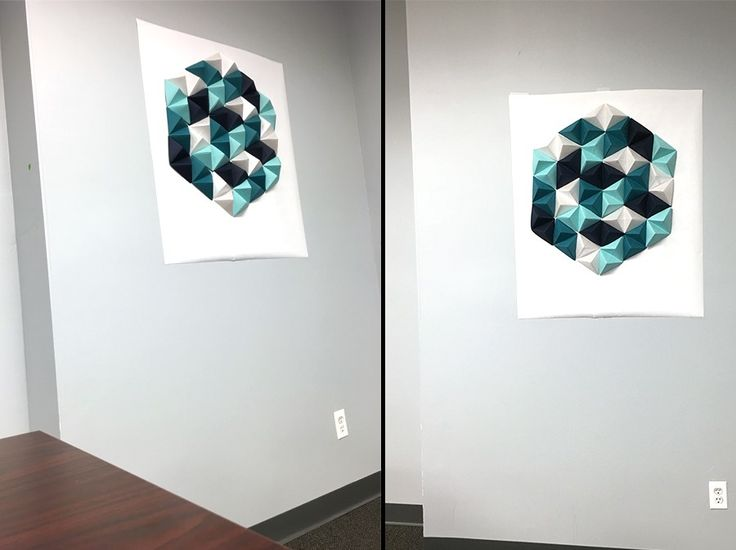 paper wall art, diy wall art, paper art