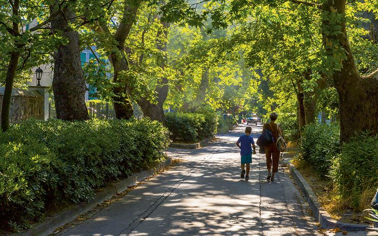 Just a 30-minute train ride from the city center, this leafy northern suburb is known for great shopping, dining and timeless charm