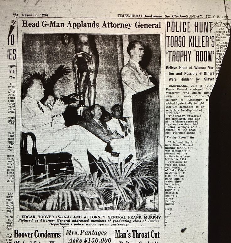 1939 : Frank Murphy Becomes U.S. Attorney General