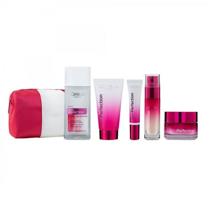 Loreal Skin Perfection Bag Set