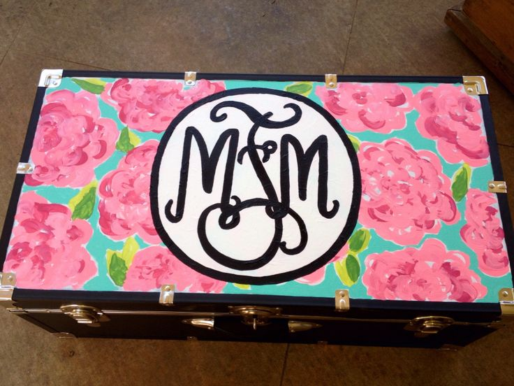 Camp trunk Monogram, Lily Pulitzer